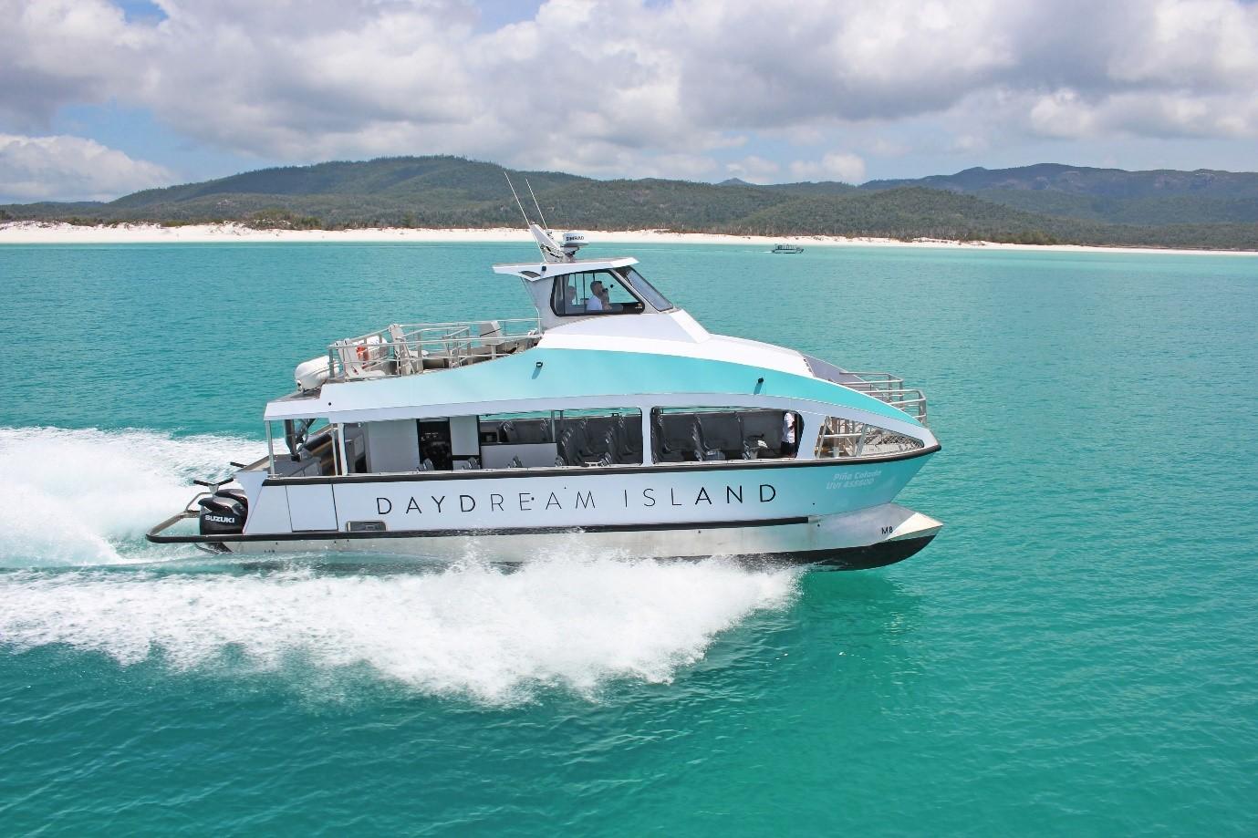 Boat to Daydream Island