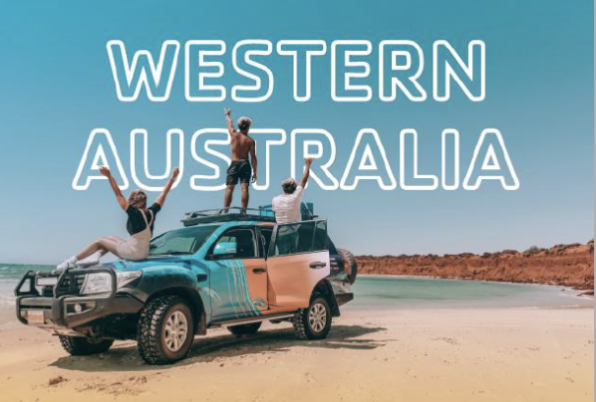 4WD on WA Beach