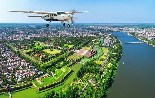 Hai Au Aviation inaugurated its new Hue – Danang route