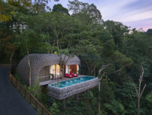 Keemala Birds Nest pool and villa