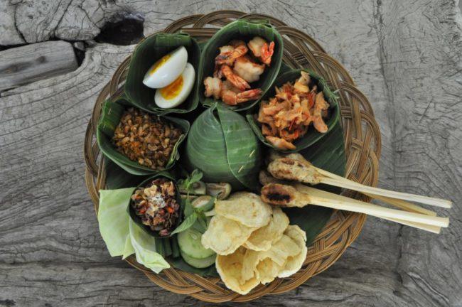 Seafood dish, Jahe Restaurant Pavillions Bali