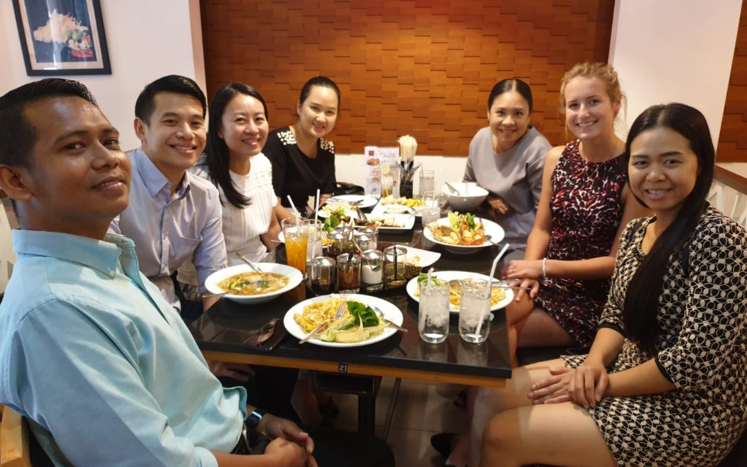 SLC's Account Executive Kim visited Thailand Clients