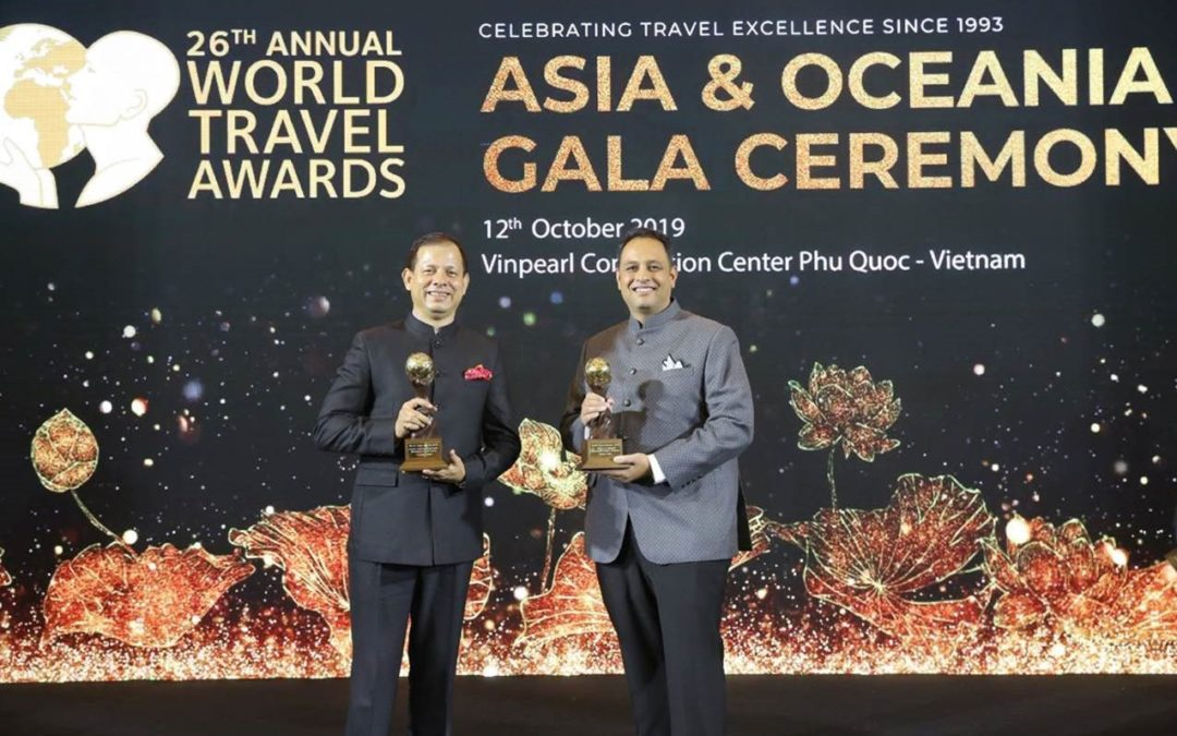 Creative had a great run at the 26th World Travel Awards